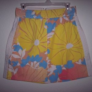 Tracy Feith Floral Skirt Juniors Size 11
